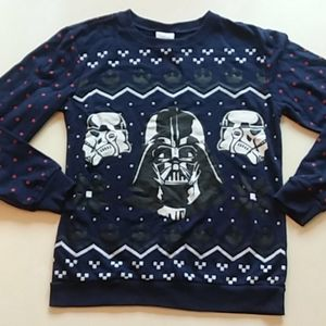 Disney small Star Wars Darth Vader sweatshirt